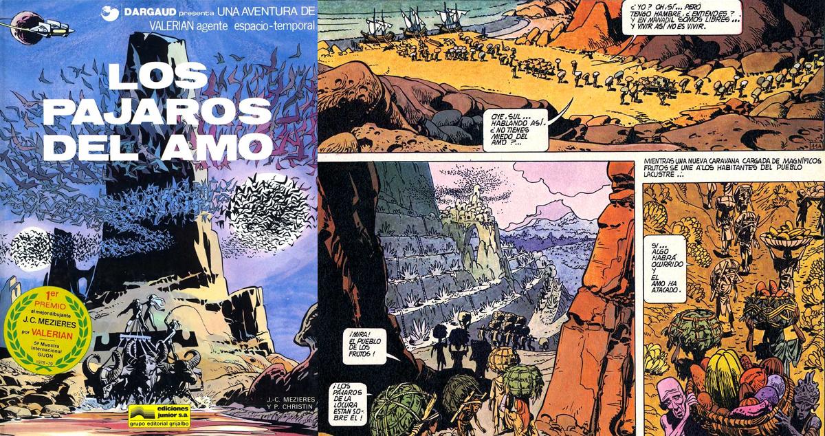 Los pájaros del amo, 1973, uno de los tomos más recordados de la serie
