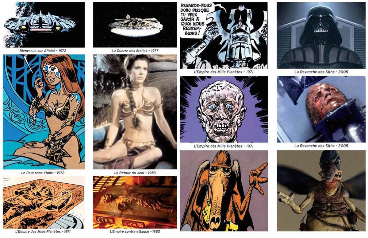 Lucas se inspiró en muchos detalles de esta serie para la creación de su saga espacial