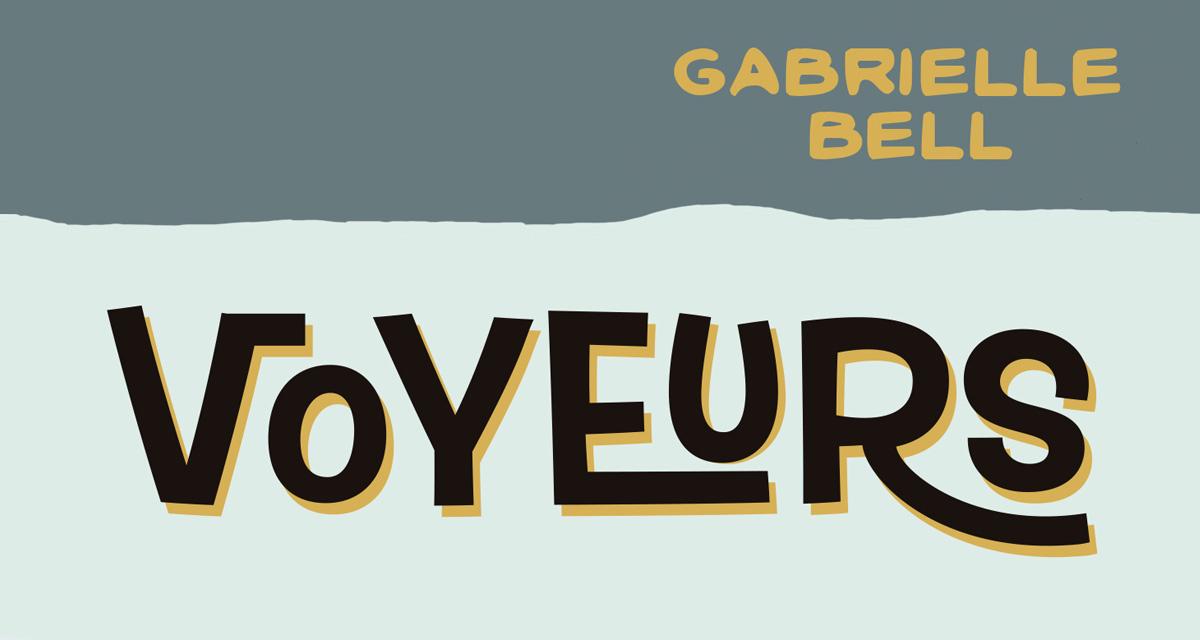 Golem-comics-Voyeurs-portada-Gabrielle-bell