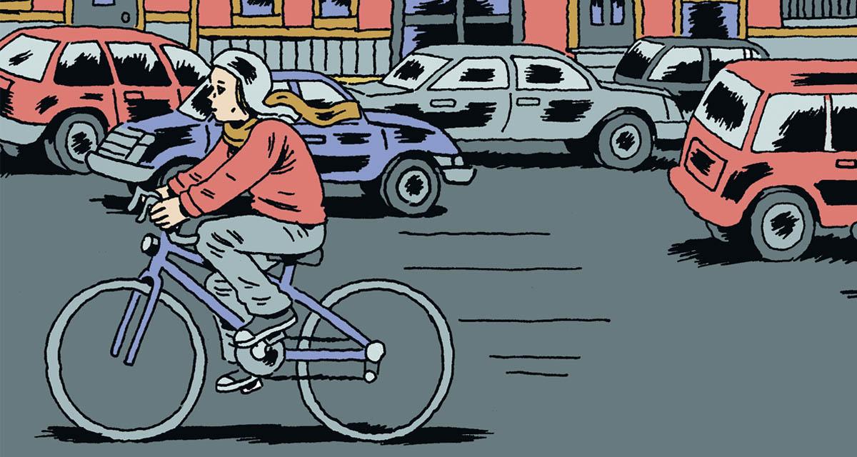 Voyeurs narra una serie de anécdotas inconexas de la propia autora del cómic, Gabrielle Bell