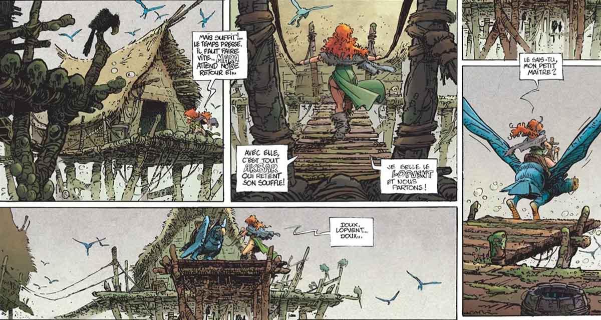 Pelisse, hija de Mara es el personaje femenino de referencia de este cómic