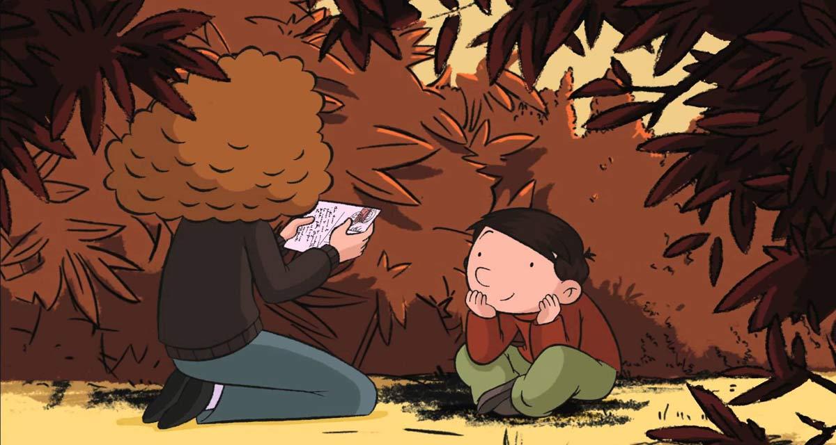Fotograma de la película de animación 'Mi mamá está en América...'