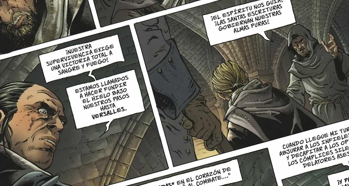 Historia y dibujo van de más a menos en este comic