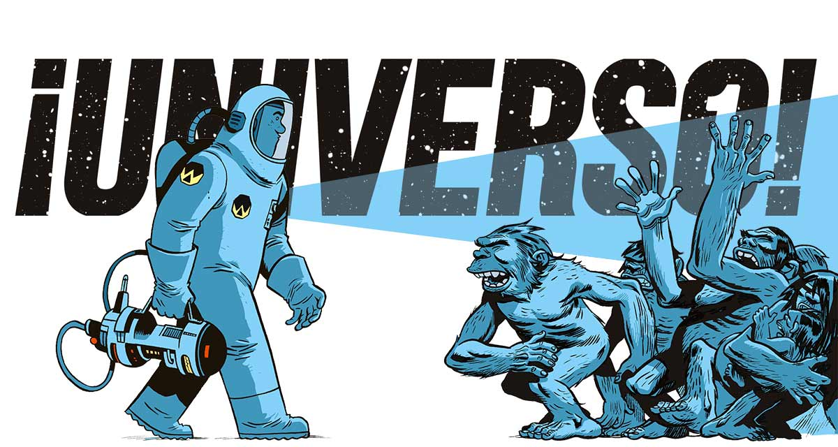 Universo-Alberto-Monteys-golem-comics-comic-bd-1