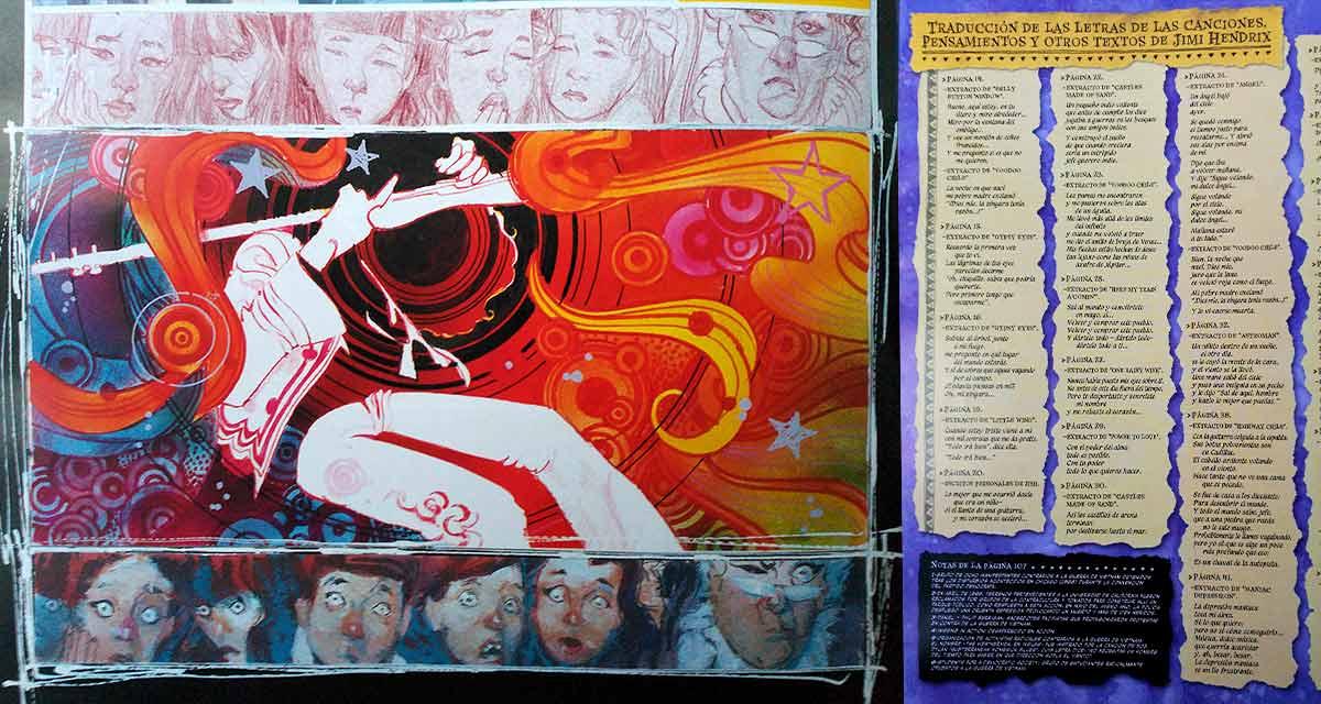 Interpretación de la psicodelia – Letras de Hendrix