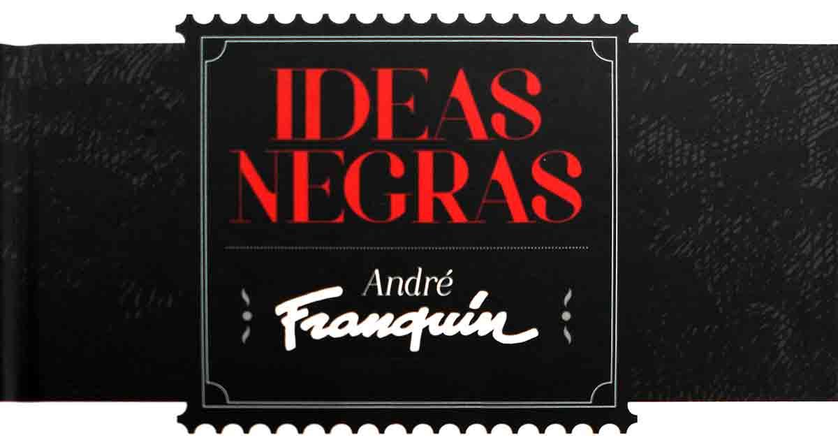 Ideas-negras-Andre-franquin-golem-comics-comic-bd-1
