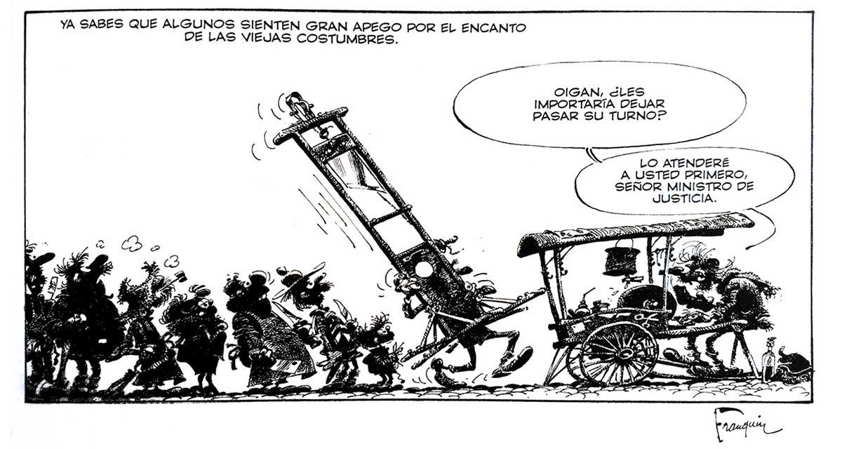 Ideas negras, de André Franquin, es una obra maestra del género sátiro / humorístico de la BD