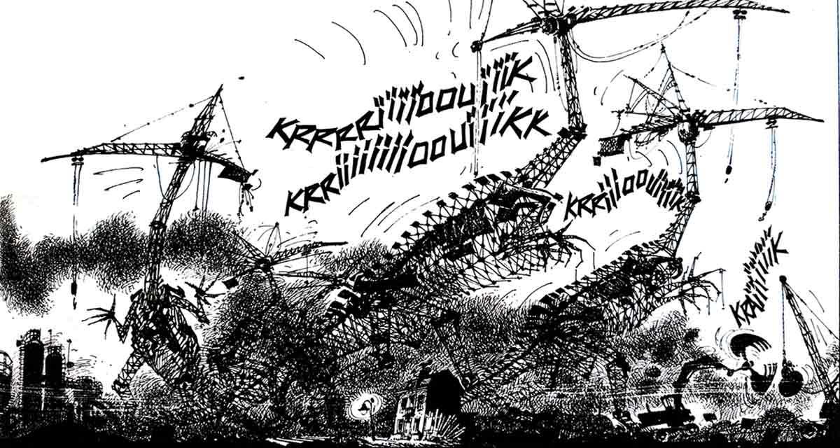 La expresividad es seña de identidad de toda la obra de André Franquin