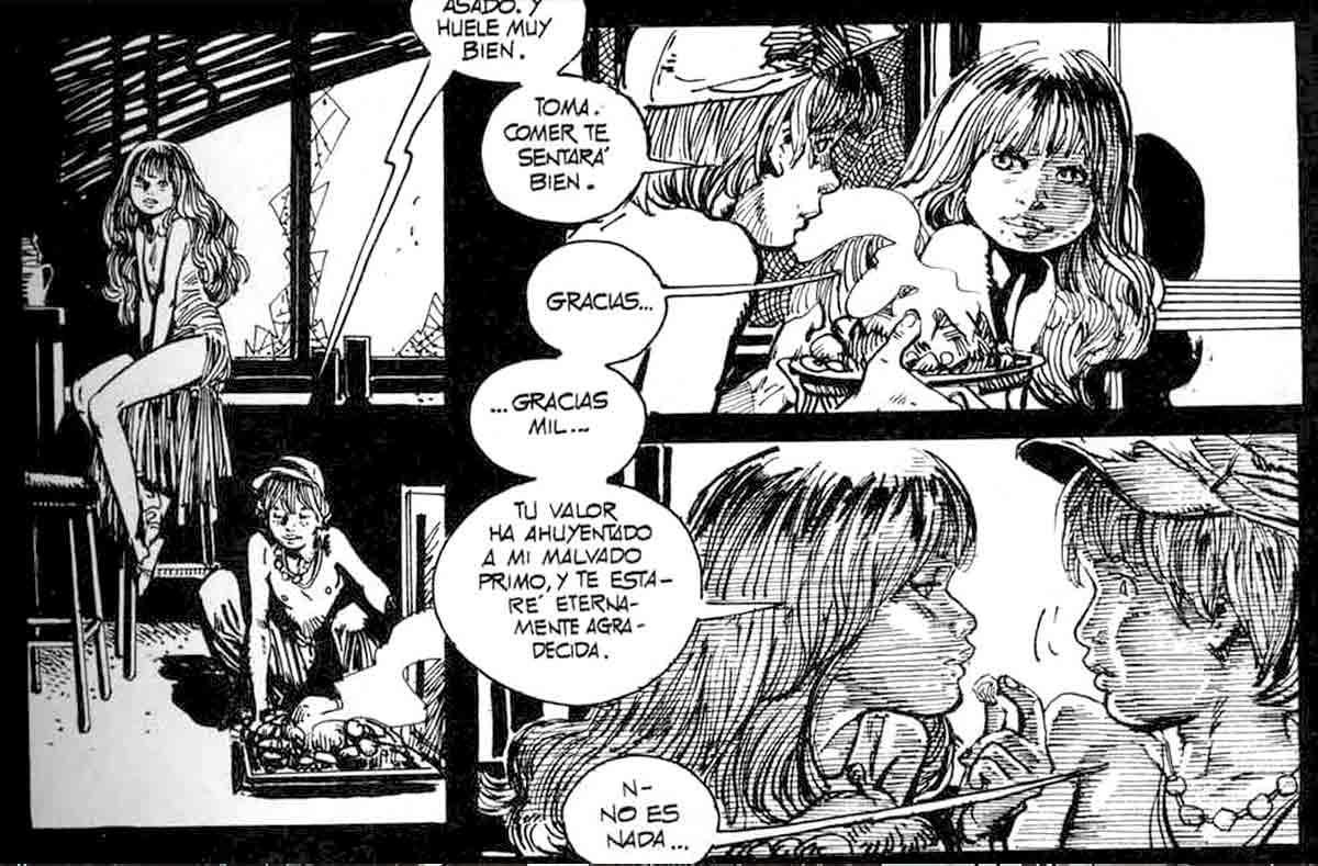 Sincronía entre dibujo y viñetas