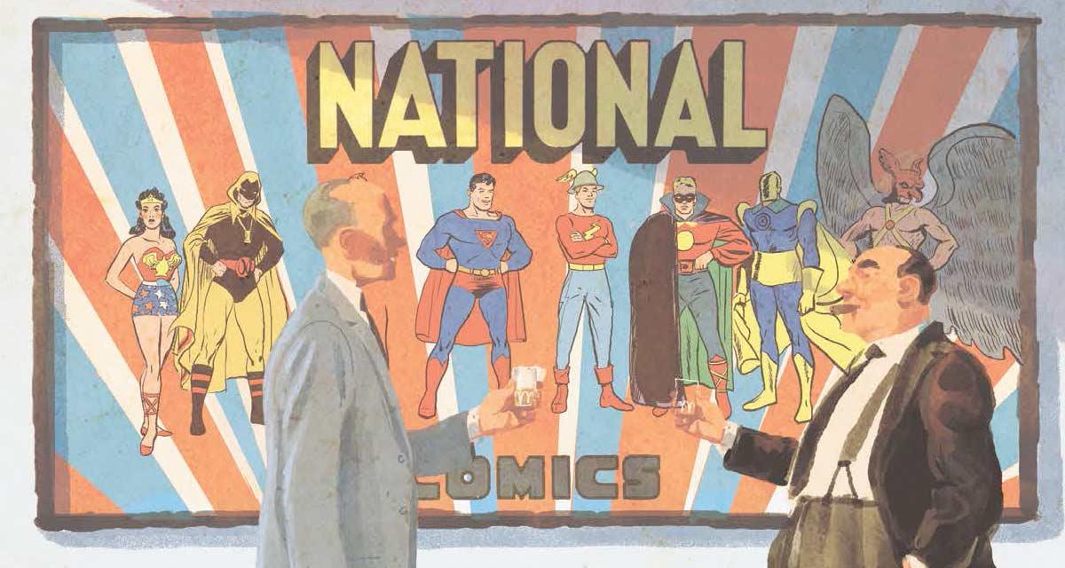 En este comic podemos ver cómo se aprovecharon las editoriales del trabajo de Shuster y Siegel