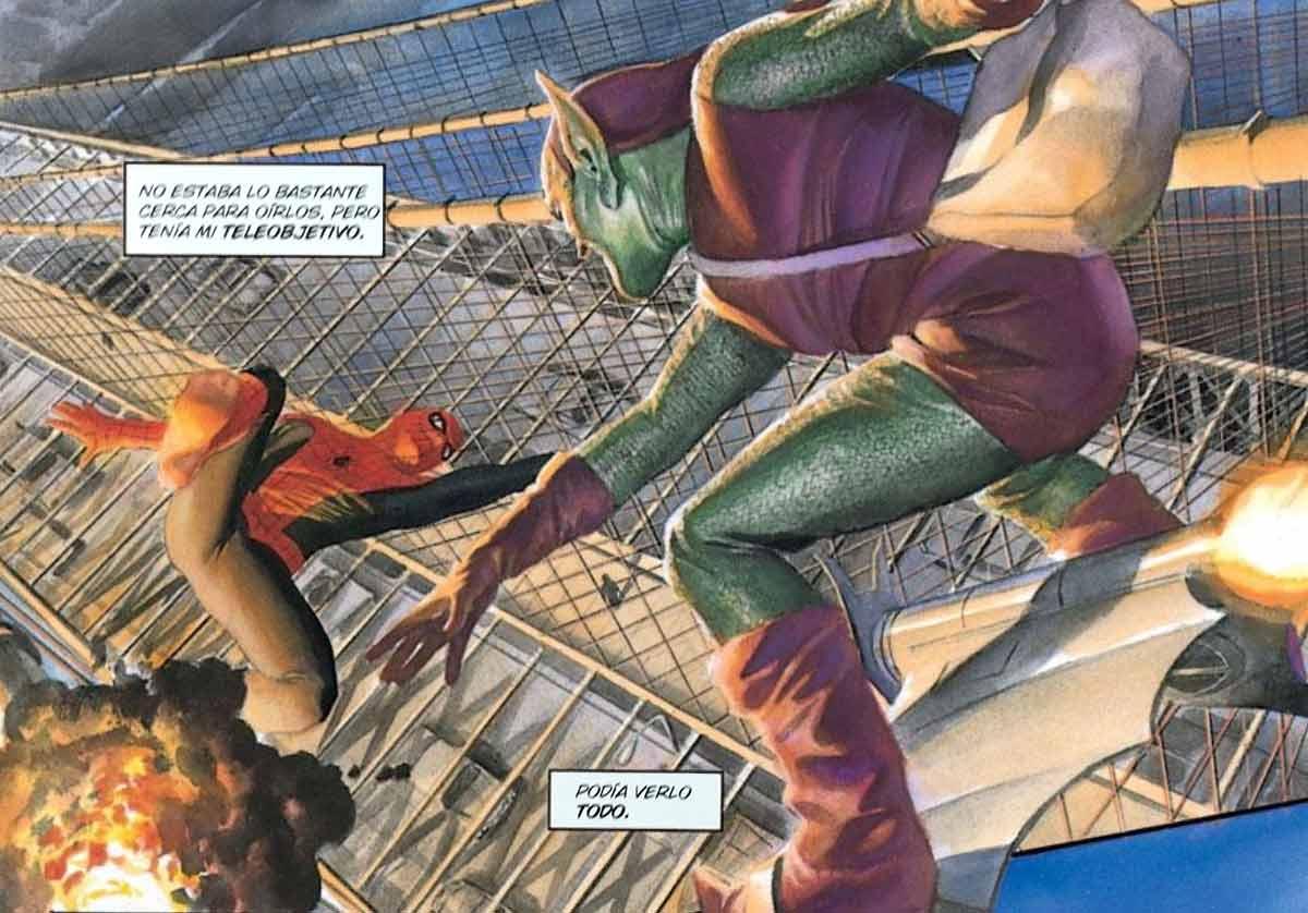 Tendremos secuencias clásicas de Marvel como la lucha de Spiderman contra Duende Verde en lo alto del puente de Brooklyn