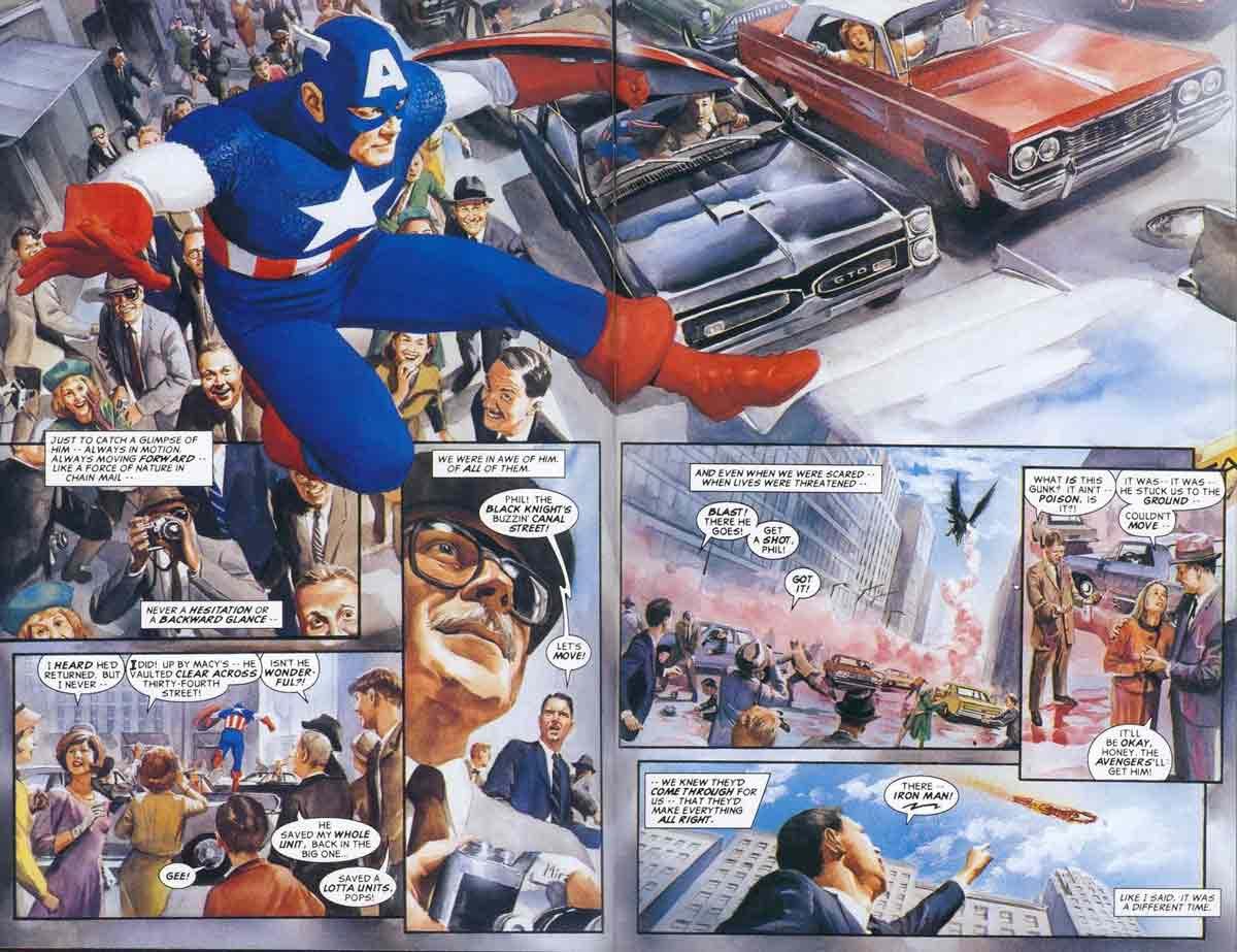 La perspectiva que adopta Marvels otorga un sentido dramático al relato.