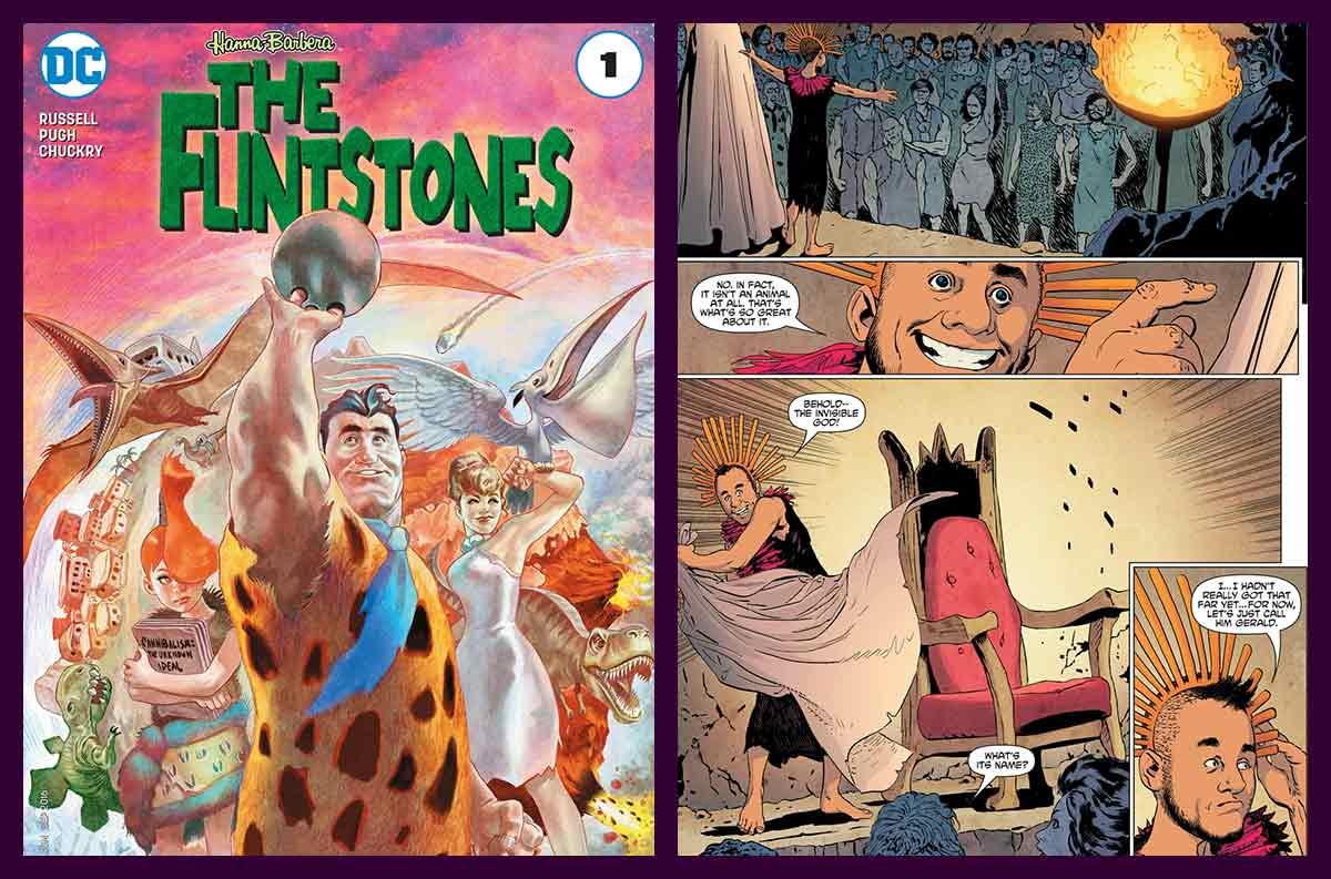 The Flintstones es una miniserie de 12 números