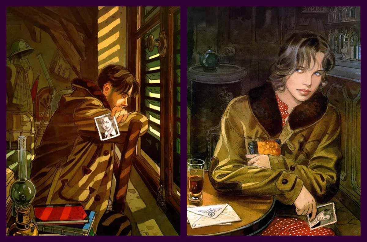 Imágenes de portada de los dos tomos