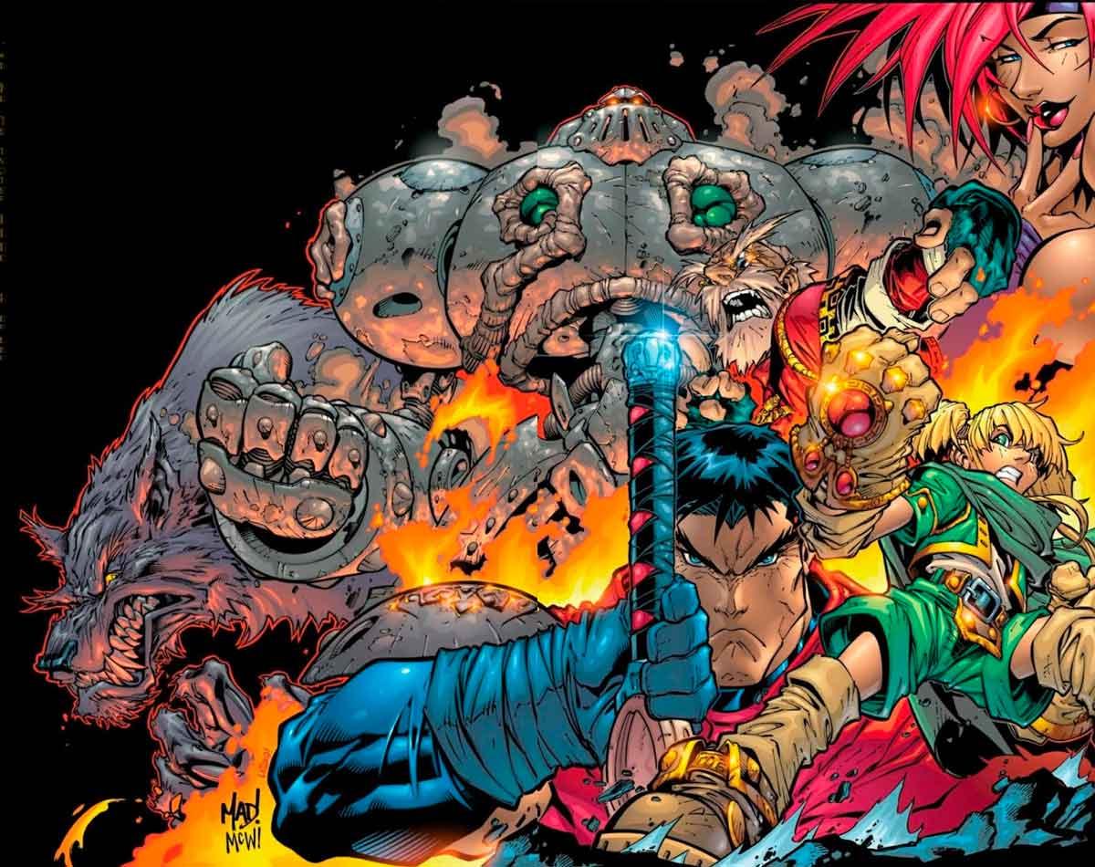 Battle Chasers es la obra cúlmen de Joe Madureira