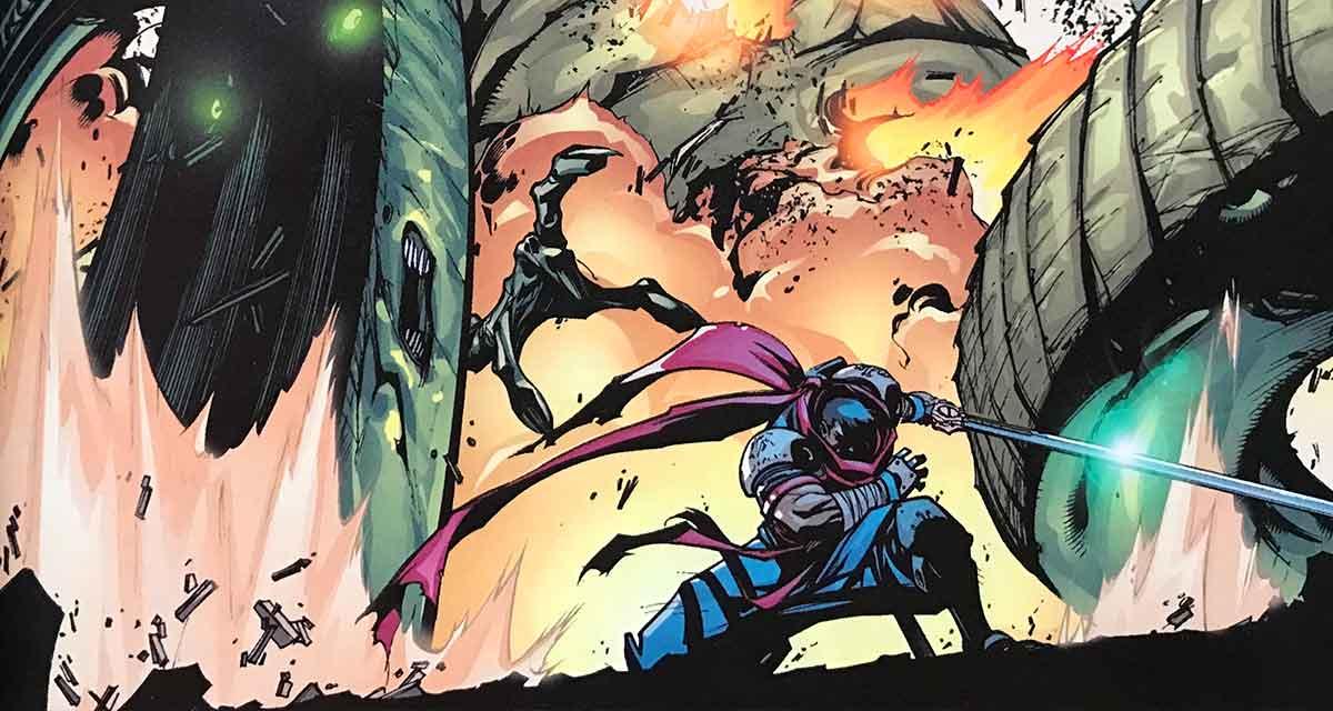 Battle Chasers es una obra en la que luce sobre todo el dibujo de Joe Madureira