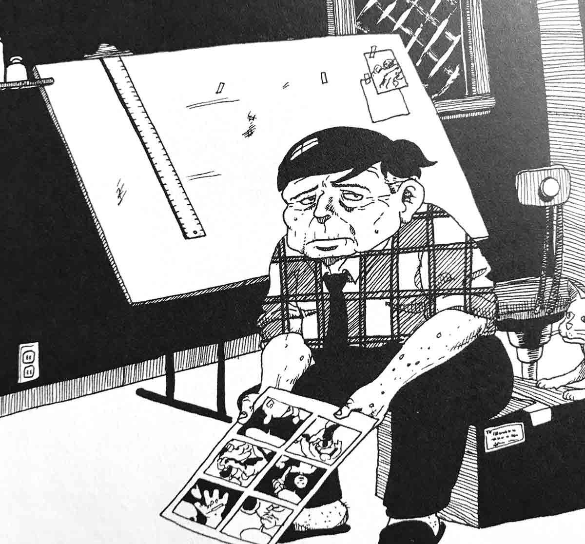 Esta novela gráfica profundiza en la frustración en el mundo editorial y del cómic