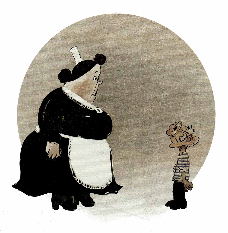 María y Monsieur, los protagonistas