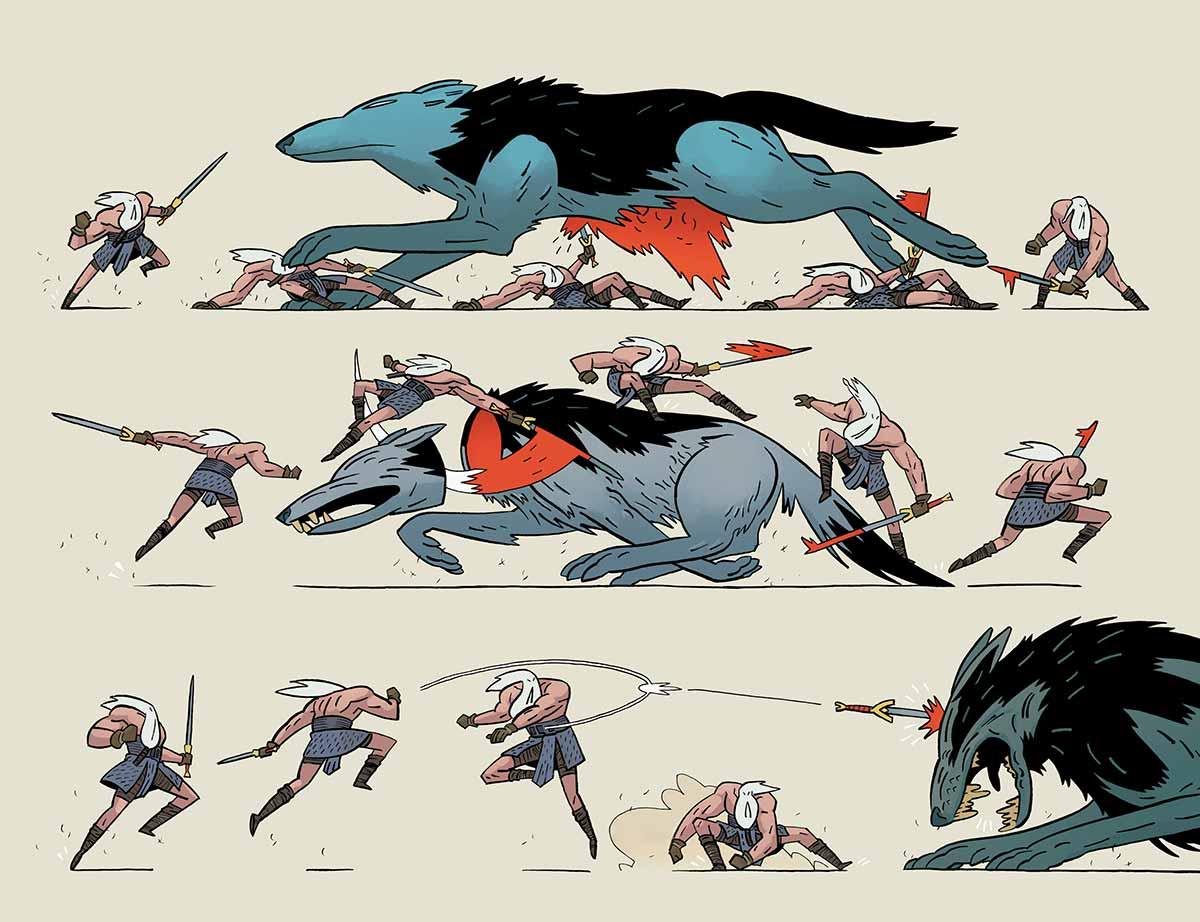 Golem-Comics-Head-Lopper-El-Cortacabezas-y-la-isla-o-una-plaga-de-bestias-03